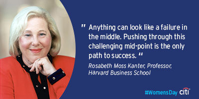 Rosabeth Moss Kanter, Professor at Harvard Business School