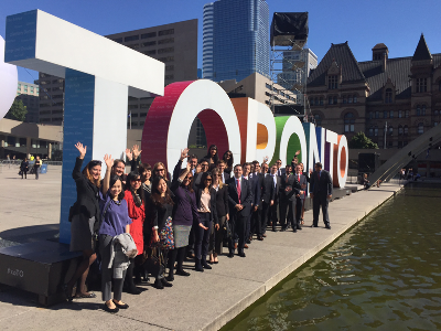Citi's One Yong World Delegates 2016