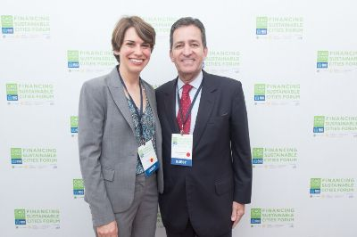 Val Smith, Director of Corporate Sustainability with Helio Lima Magalhães, CEO of Citi Brazil.