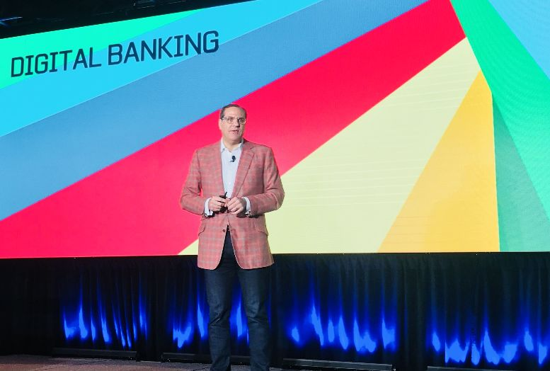 Citi Global Consumer Bank Head of Technology Gavin Michael presents at American Banker's Digital Banking 2018 conference.