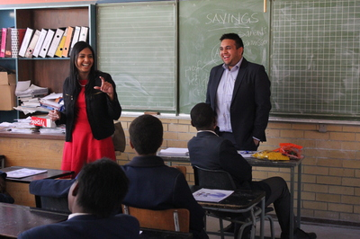 Citi South Africa Volunteers Enrich Students Lives Through Financial Literacy By Magashini Pillay