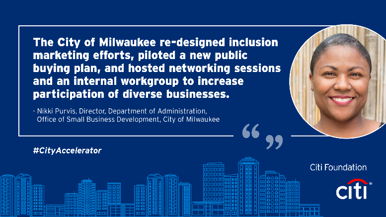 Nikki Purvis, Director, Department of Administration, Office of Small Business Development, City of Milwaukee